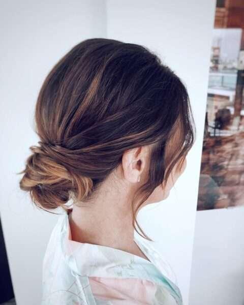 peinados para pelo corto para boda