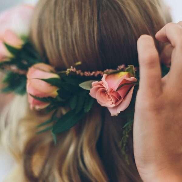 peinados con media melena para boda