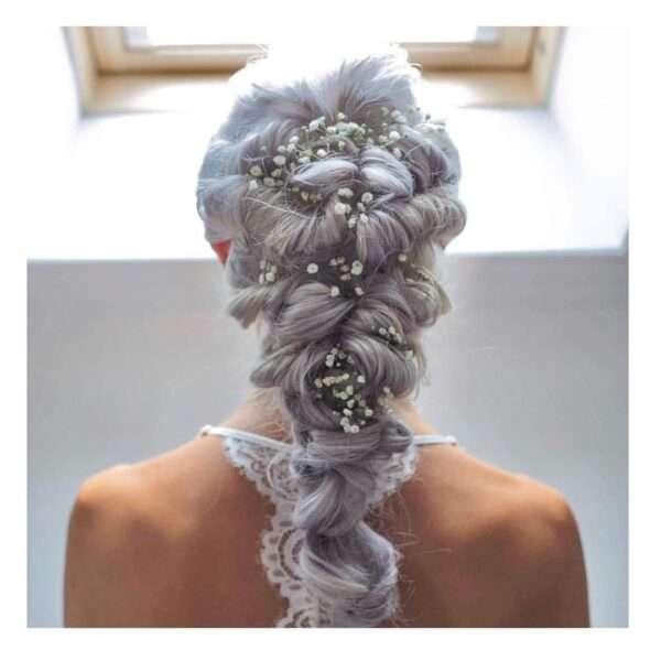 peinados media melena boda