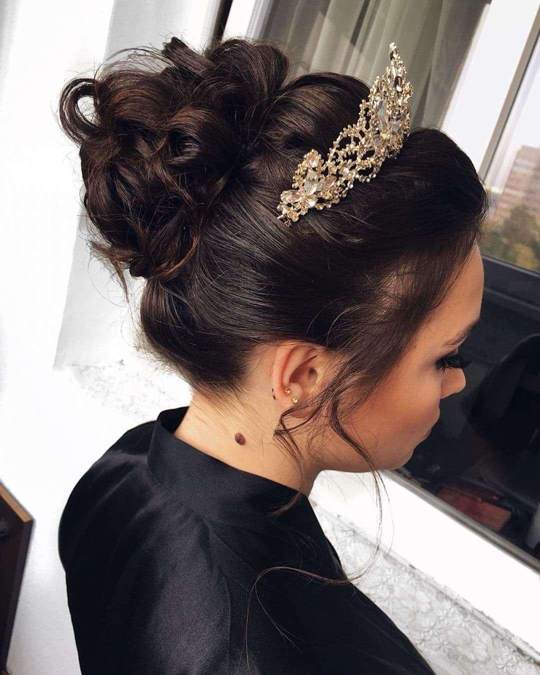 Wytworna fryzura w stylu retro