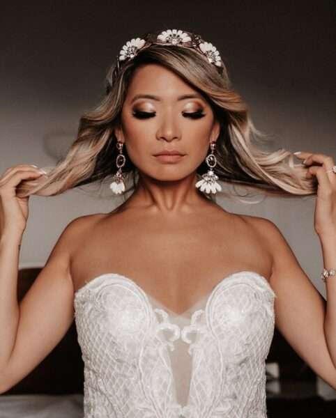 peinados madrina boda media melena