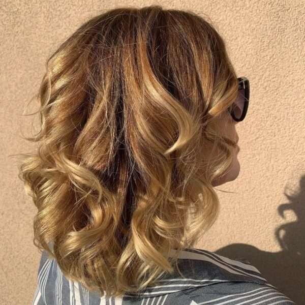 fryzura loki