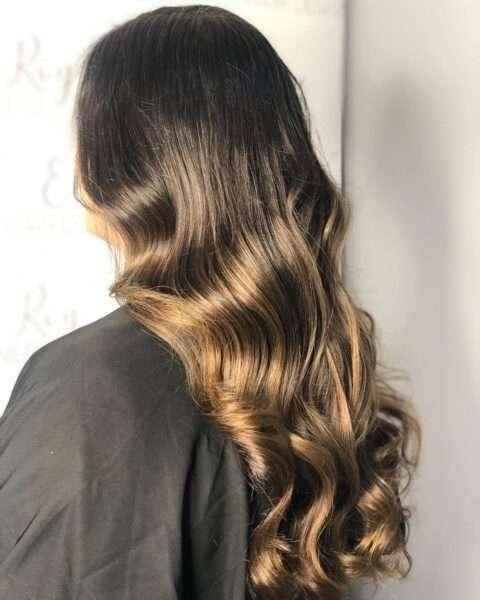 loki fryzura wieczorowa