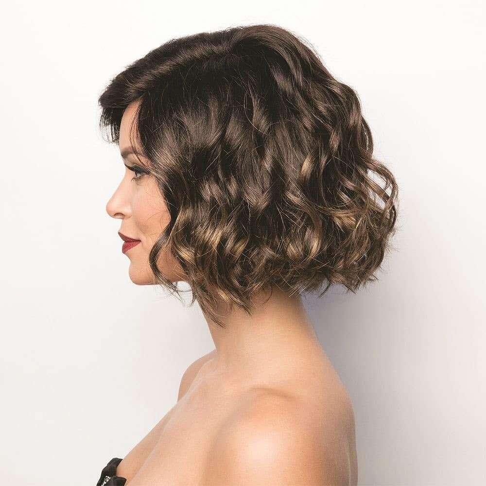 fryzura slubna loki rozpuszczone