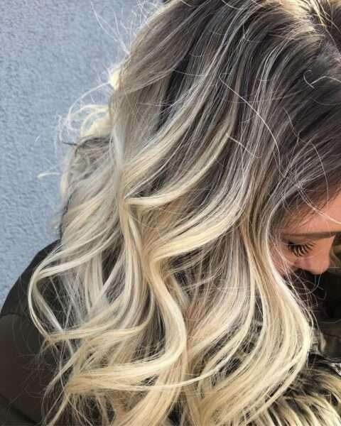 fryzura na wesele jako gość loki