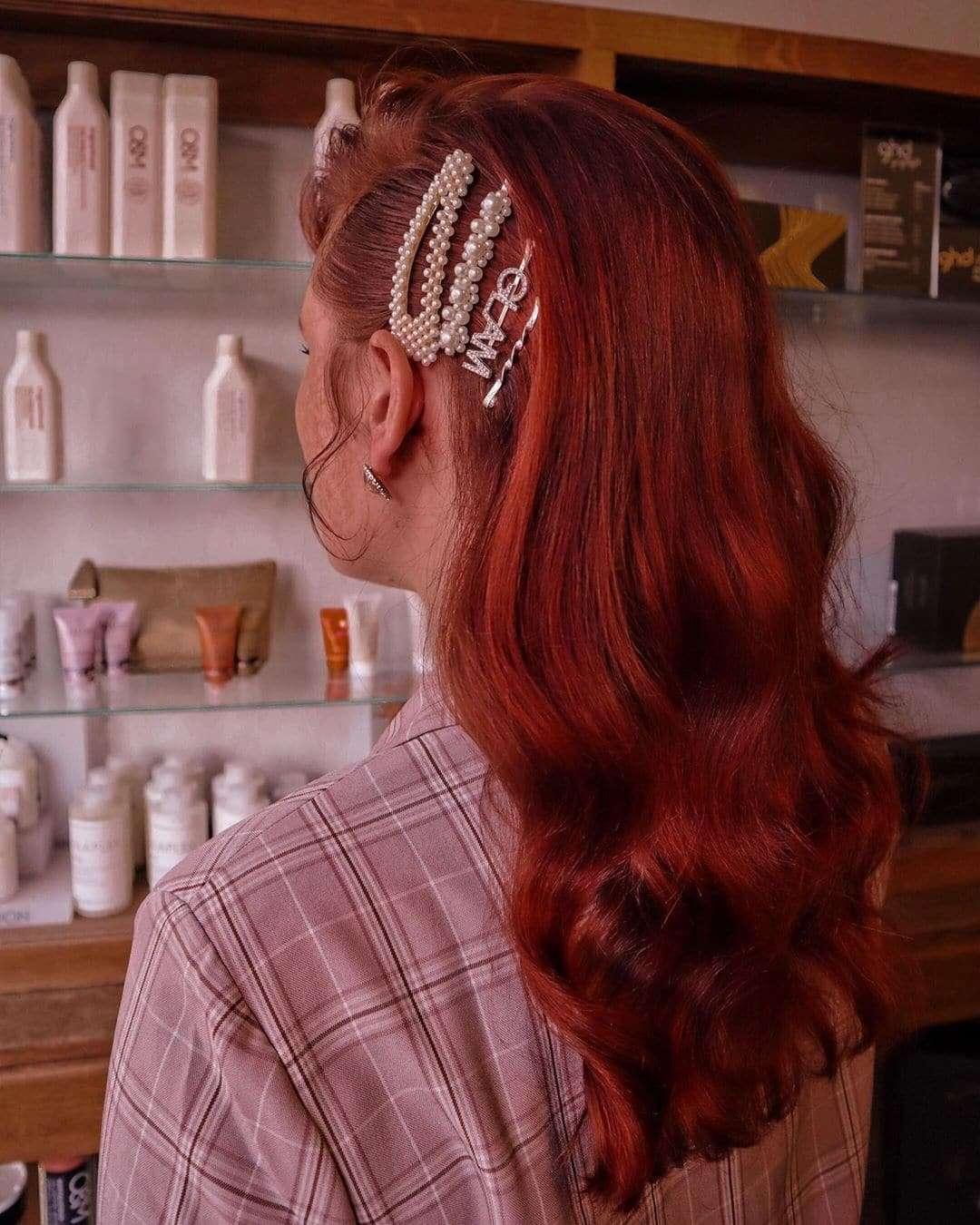 fryzura na wesele loki upiete
