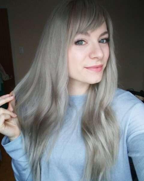 corte de pelo en capas simples para cabello largo