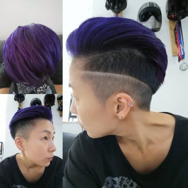 peinados para pelo muy corto