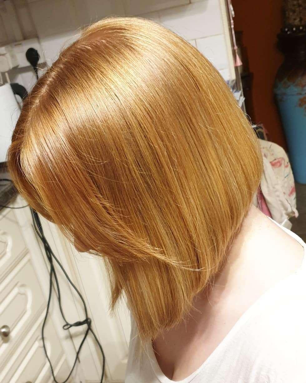 fryzury połdługie z grzywka