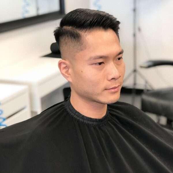 męskie długie fryzury