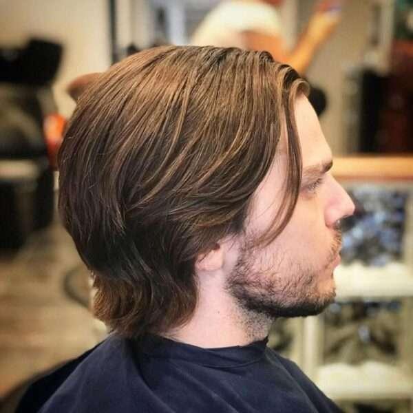długie włosy fryzury męskie