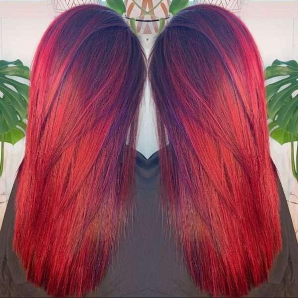 стрижка длинные волосы