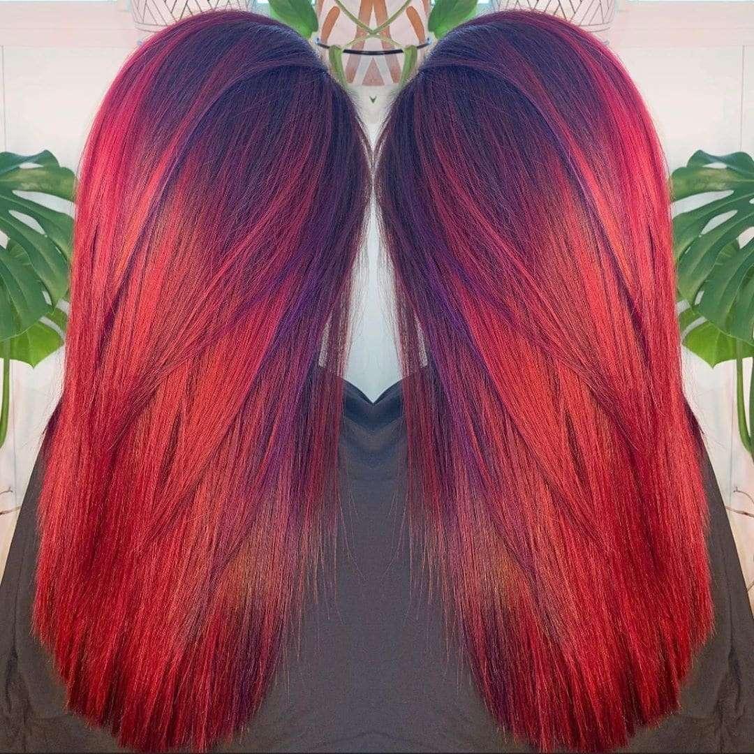 włosy długie fryzury