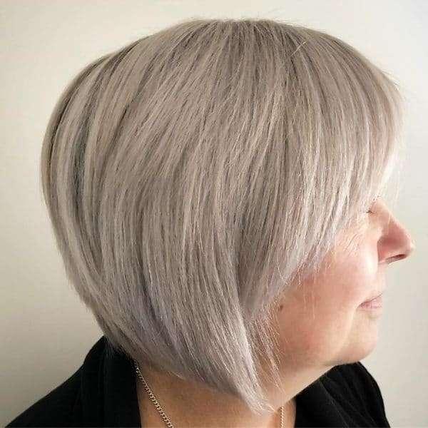krótkie blond fryzury damskie