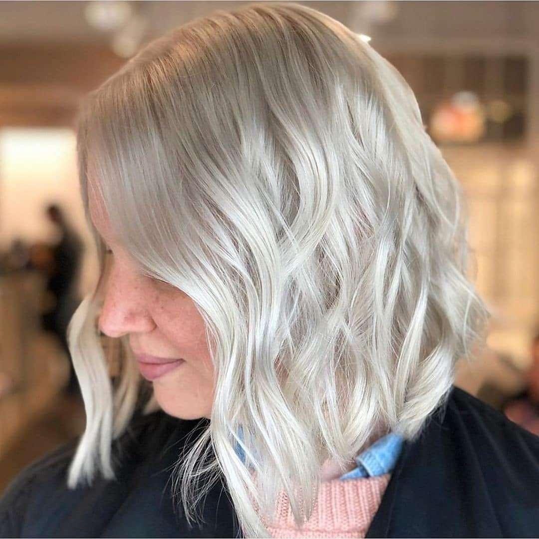blond krótkie fryzury