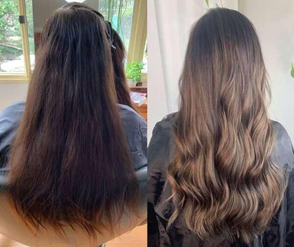 лёгкие причёски на длинные волосы