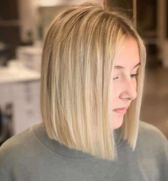 krotkie blond fryzury