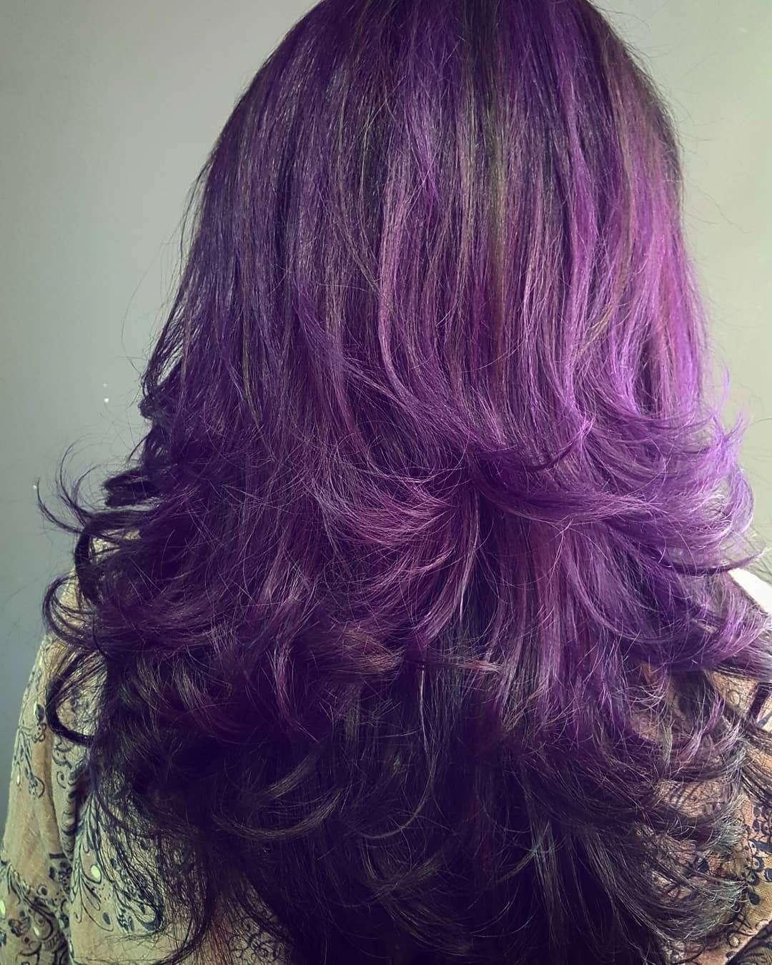 fryzury długie włosy cieniowane