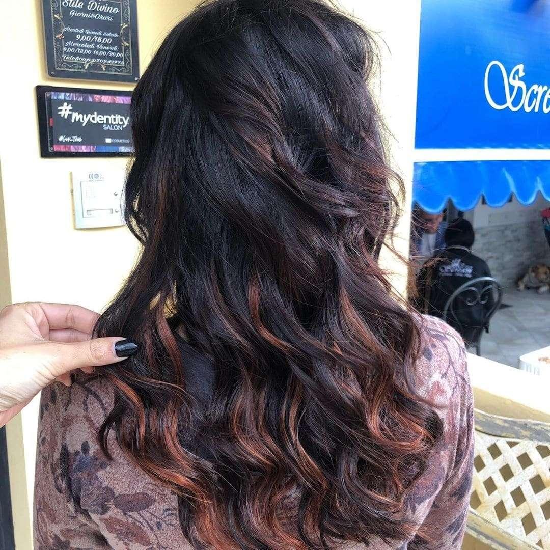 fryzury na sylwestra włosy długie