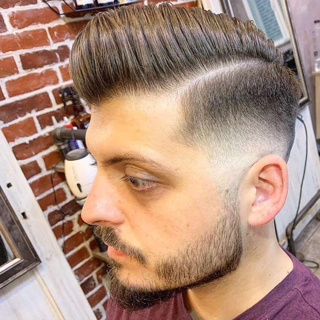 fryzury męskie młodzieżowe