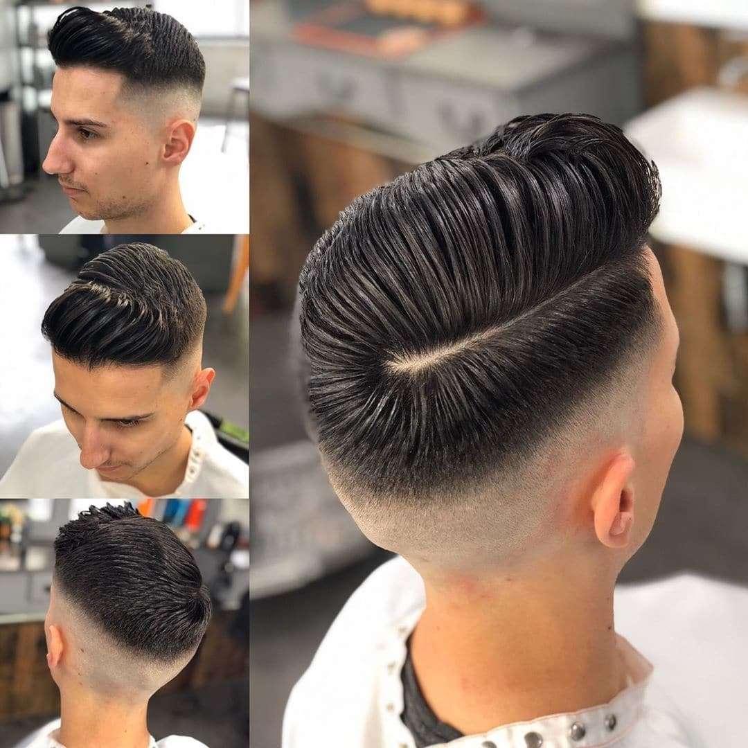 Modne fryzury męskie młodzieżowe