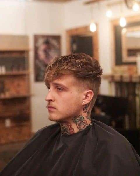 fryzury młodzieżowe meskie