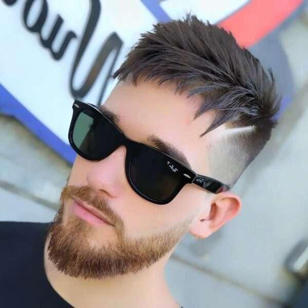 młodzieżowe męskie fryzury