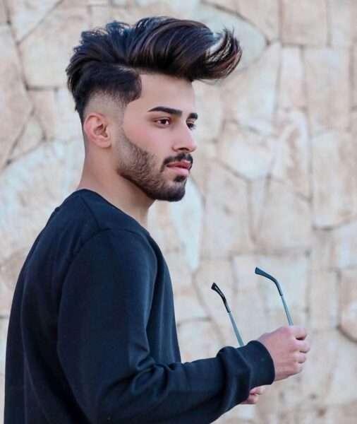 długie fryzury męskie