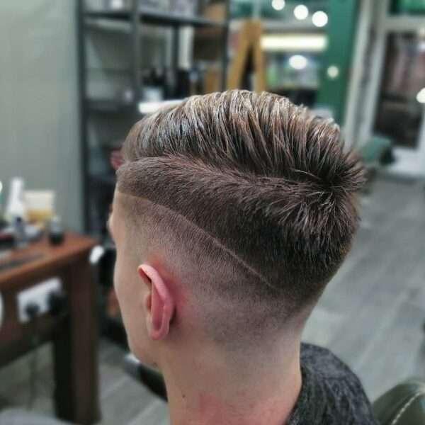 fryzury męskie długie proste