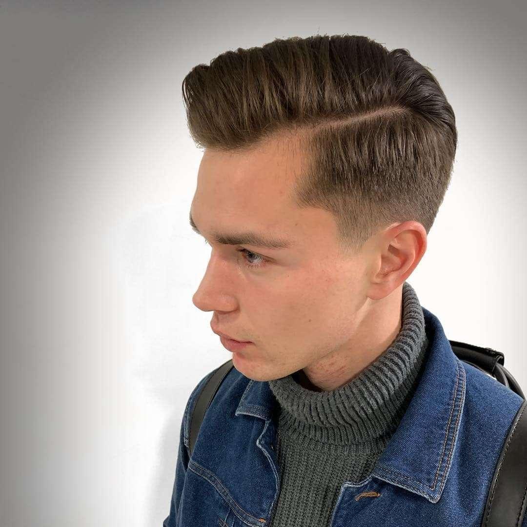 fryzury męskie na długie włosy