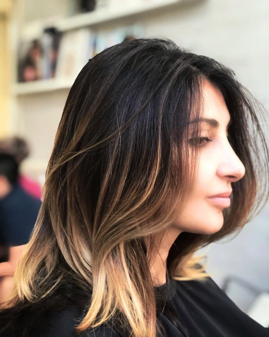 fryzury długie włosy 2018