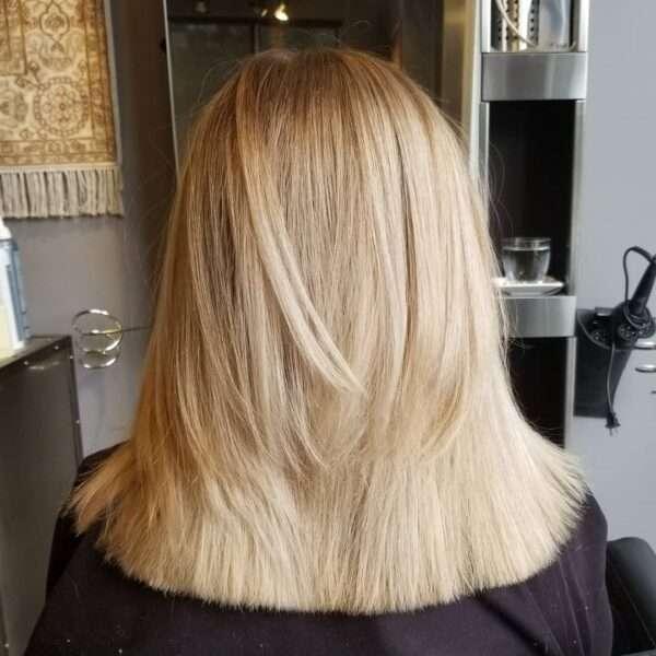 fryzury damskie półdługie