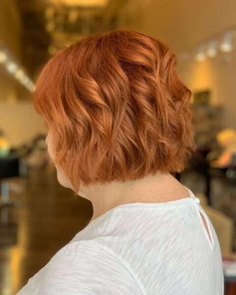 krótkie fryzury z grzywką