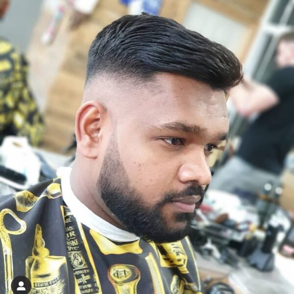 męskie fryzury krótkie