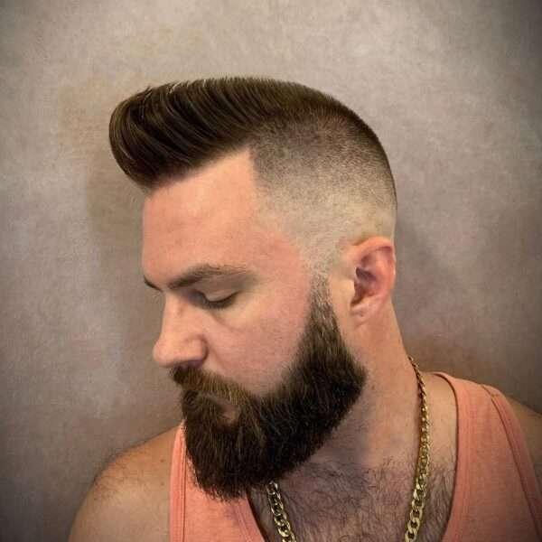 fryzury męskie krótkie boki