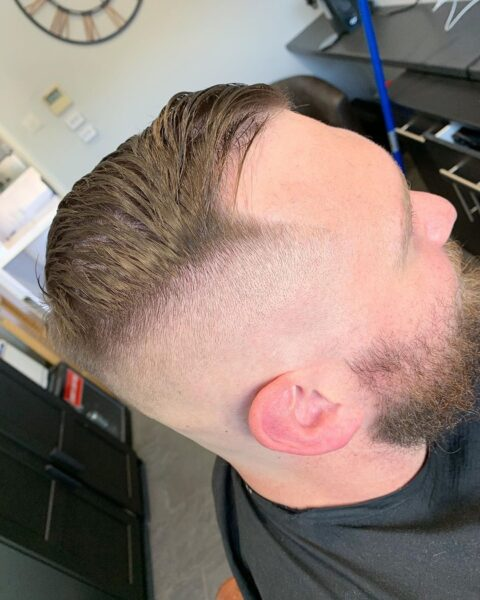 fryzura męska krótka