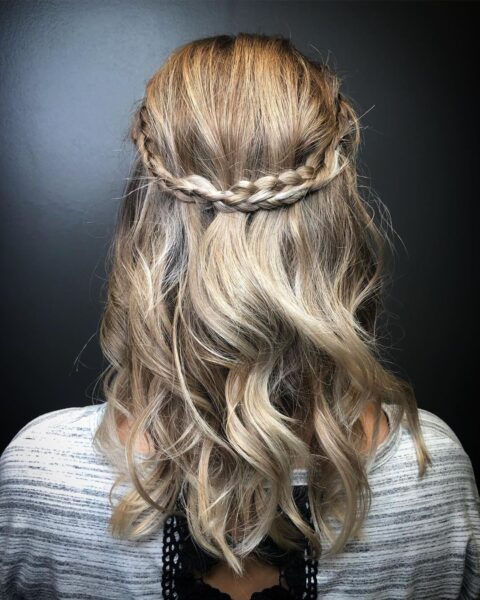 Warkocze na cienkich włosach