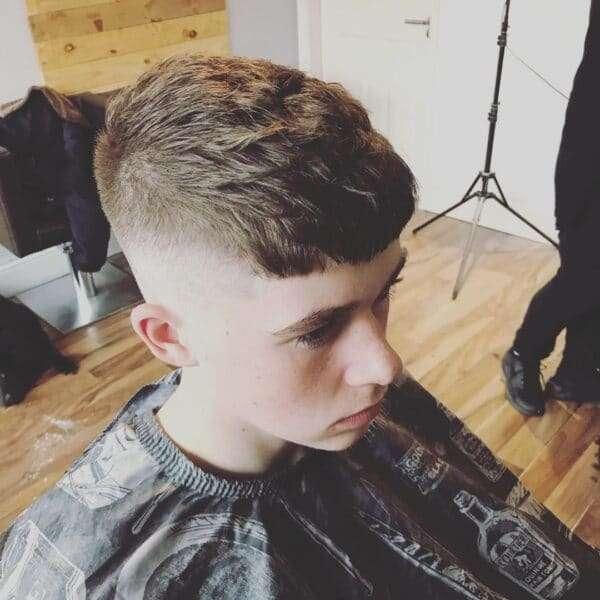 męskie krótkie fryzury