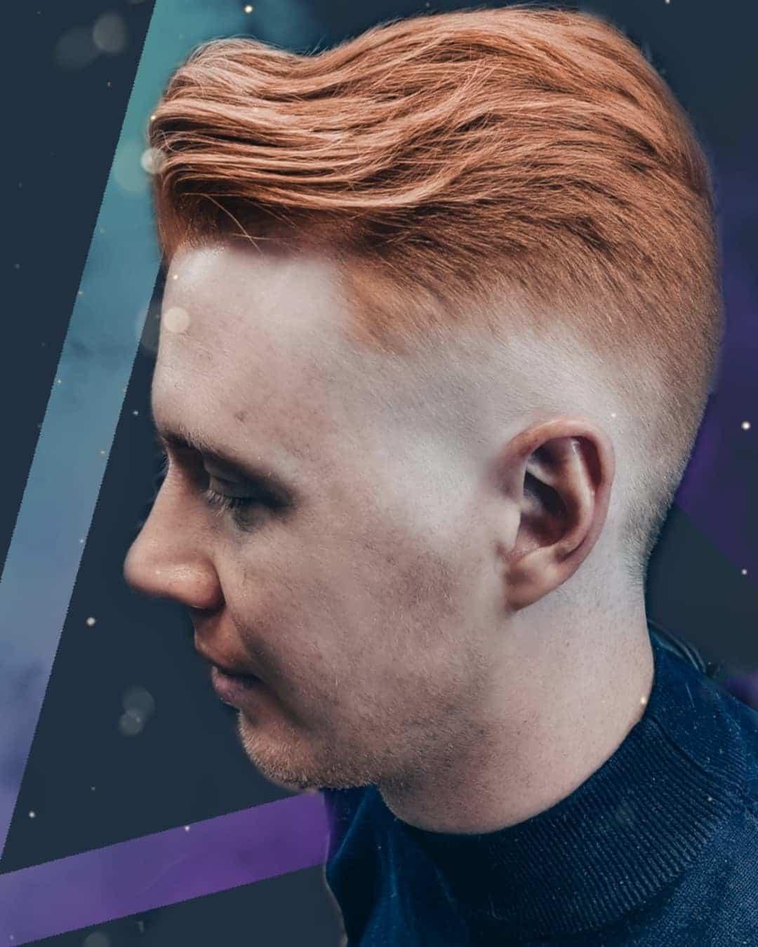 Fryzura z przedziałkiem dla cienkich włosów