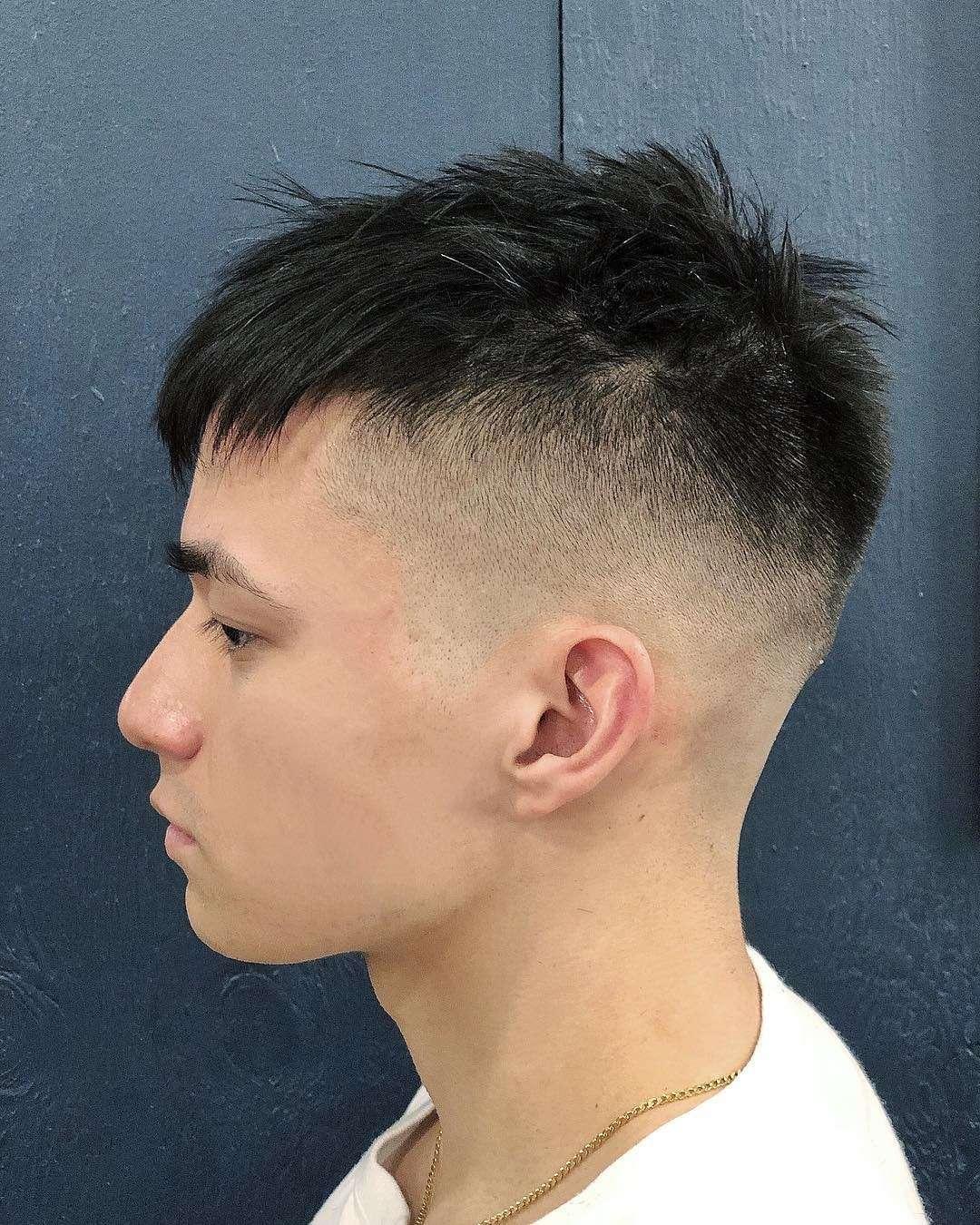 Krótkie włosy i wygolone skronie