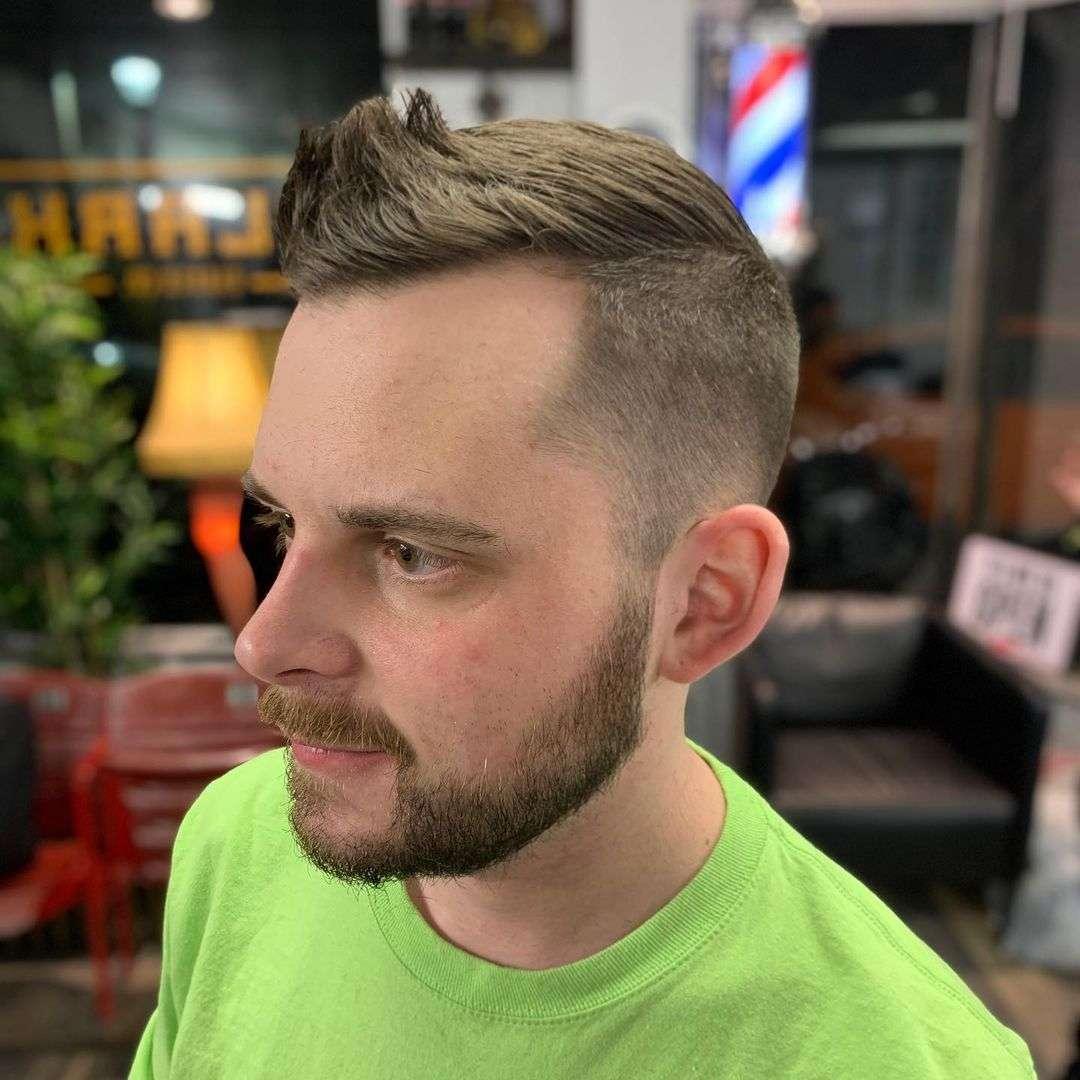 fryzura męska boki i tył krótko