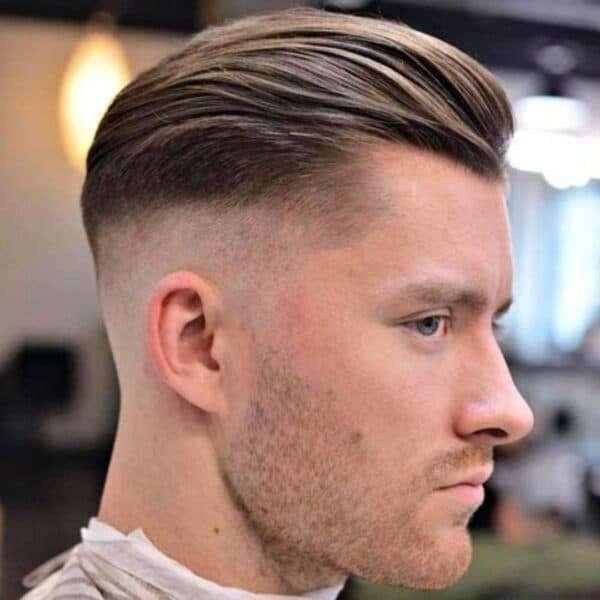 fryzury męskie krótkie boki i tył