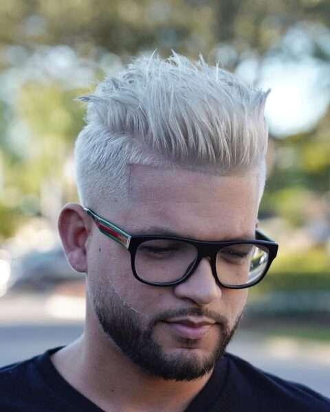 fryzury męskie boki krótko