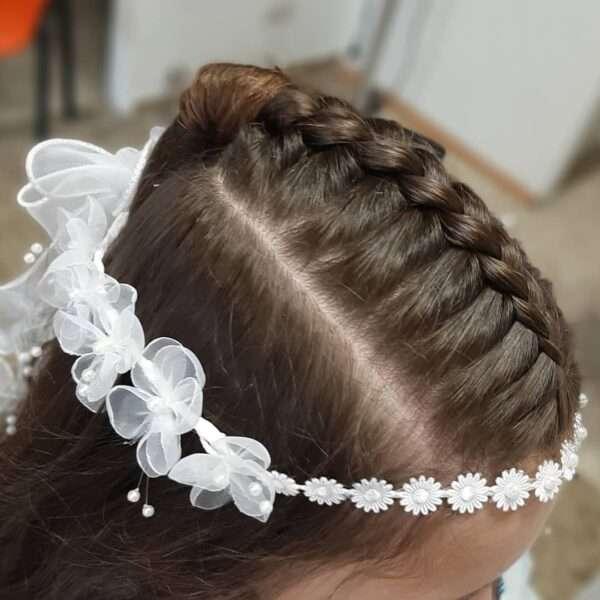 peinado de comunion