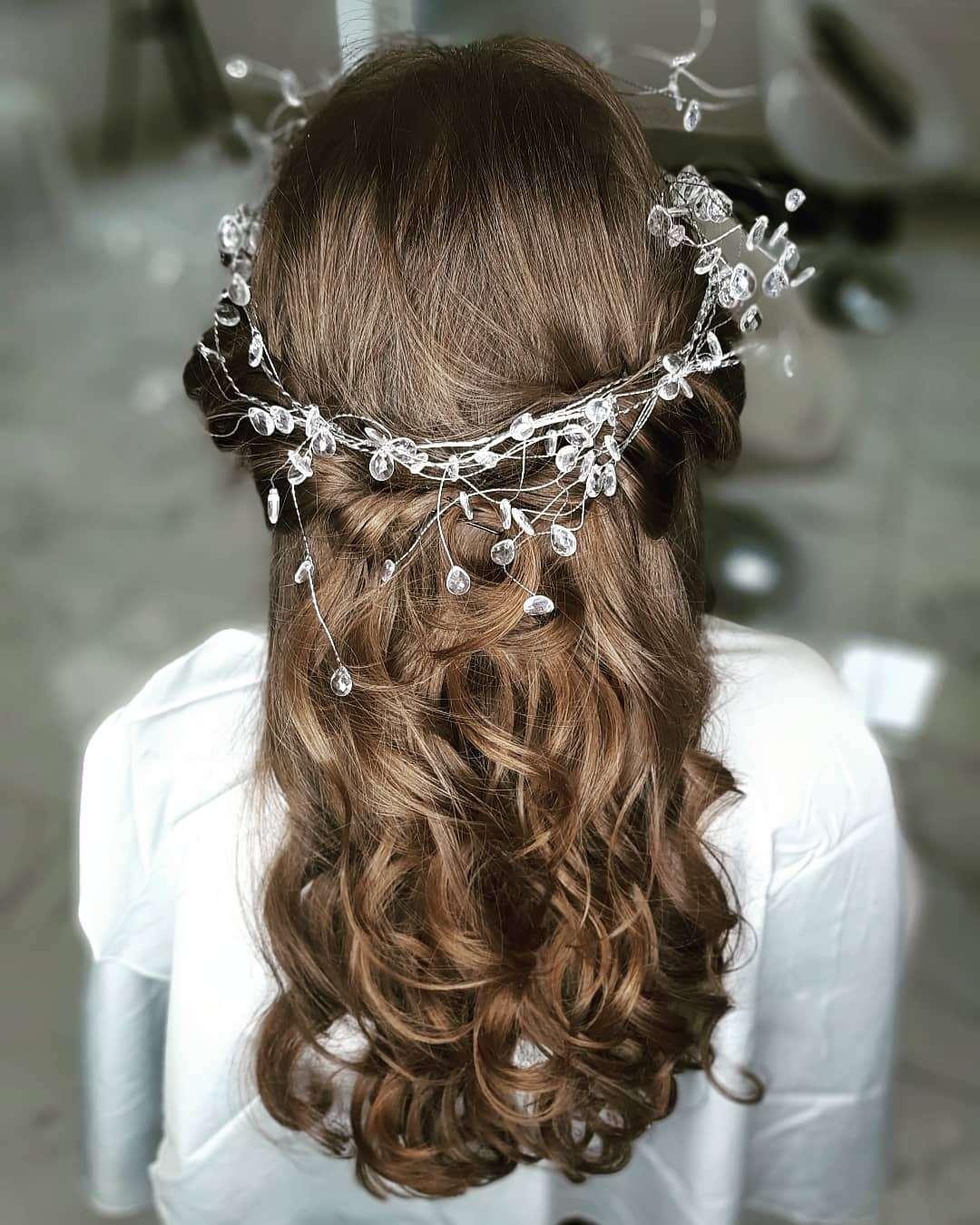 fryzury dla dziewczynki na komunię