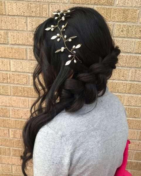 peinado comunion