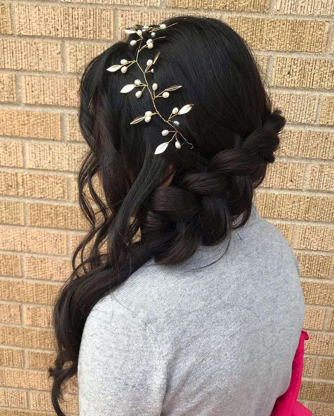 fryzury na pierwszą komunię świętą