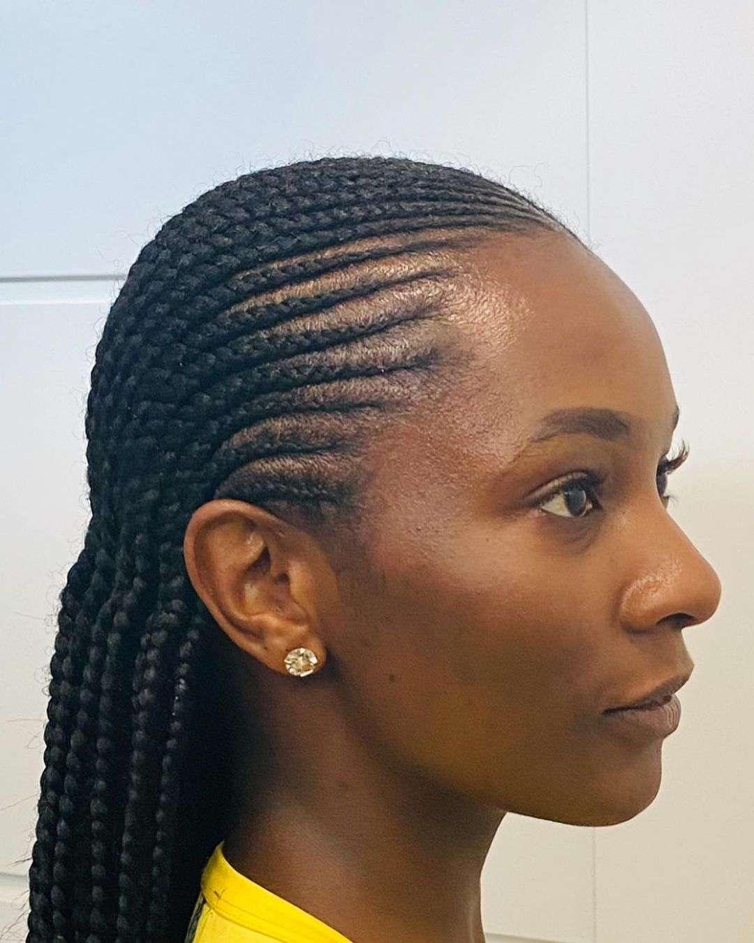 fryzury z warkoczem galeria