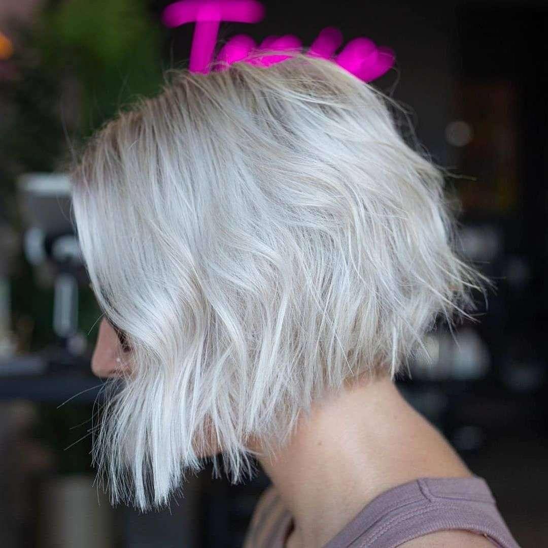 fryzury dla blondynek o cienkich włosach