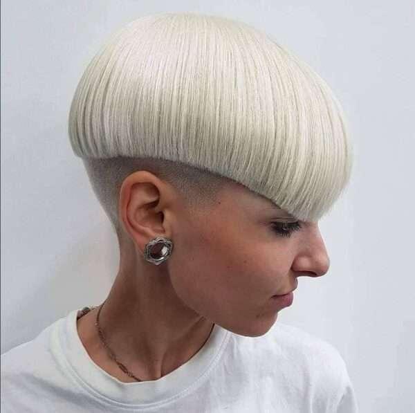 corte de cabello hongo